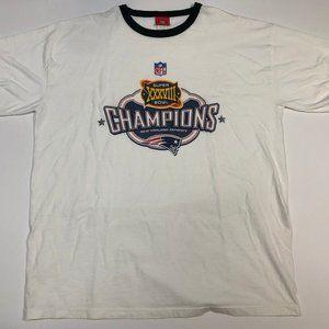 Vintage Patriots Super Bowl T-Shirt